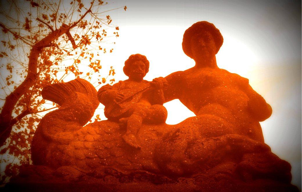 Wasserfiguren